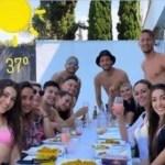 BB14xiIy - Jogadores causam polêmica na Espanha ao fazerem almoço em família durante pandemia