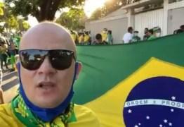 Deputado estadual participa de ato em apoio a Bolsonaro e cita 'respeito à Constituição'; VEJA VÍDEO