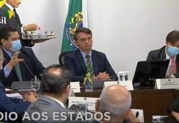PANDEMIA DO CORONAVÍRUS: Governadores, presidentes do Senado e da Câmara se reúnem com Bolsonaro – VEJA VÍDEO