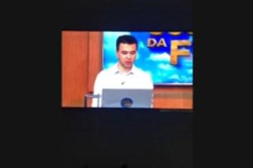 """MILAGRE"": Pastor afirma que água consagrada por ele cura Covid-19"