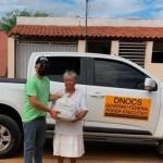 Capturars - Departamento nacional de obras contra as secas distribui uma tonelada de alimentos em municípios da PB