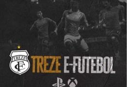 Treze anuncia os campeões dos torneios de futebol eletrônico