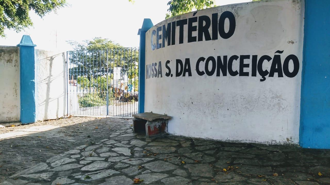 Cemiterio Nossa Senhora da Conceição Centro Foto AltairCastro Secomd - Cemitérios de Conde não abrem para a visitação no Dia das Mães