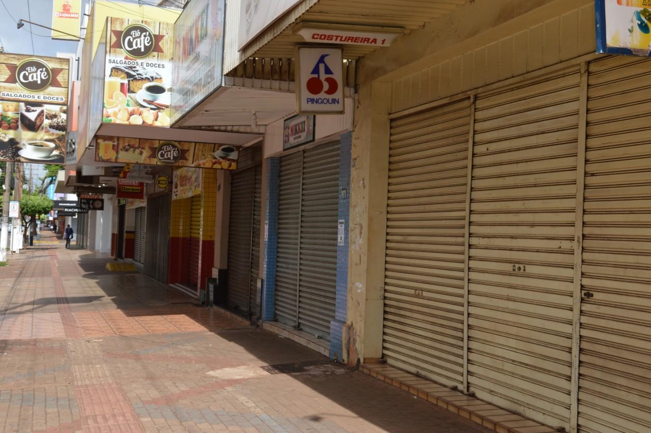 Comércio fechado - COVID-19: Prefeitura de São José de Piranhas prorroga decreto que determina isolamento social