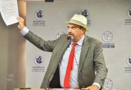 Raniery pede urgência na tramitação do PL de Jeová que propõe ajuda ao setor cultural da Paraíba