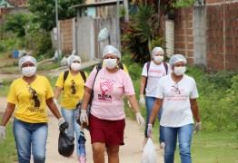 Equipes da Atenção Básica de Conde realizam distribuição de máscaras de tecido