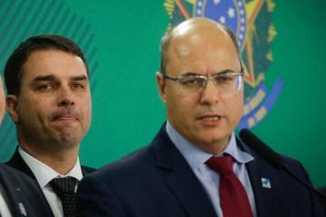 FlavioWitzel - Witzel desafia Flávio Bolsonaro: 'Meu sigilo está à disposição da Justiça. Aguardo o seu'