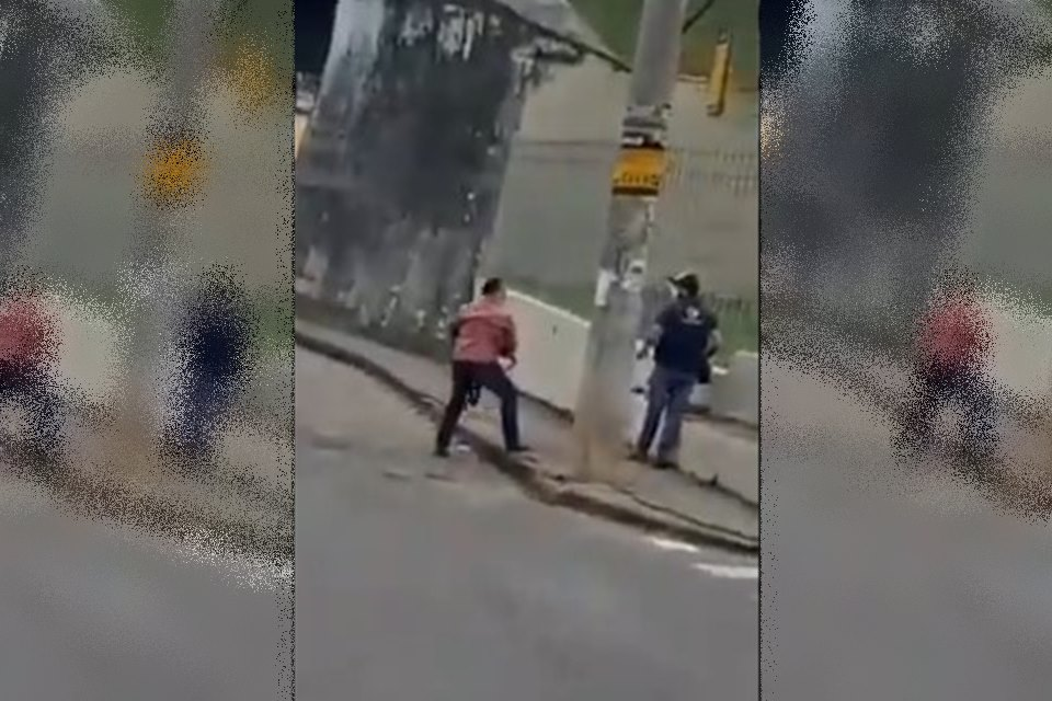 Bolsonarista é preso após agredir cinegrafista da Globo e chutar câmera