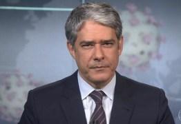 Bonner quebra protocolo e 'dá bronca' nos telespectadores por descaso com Coronavírus