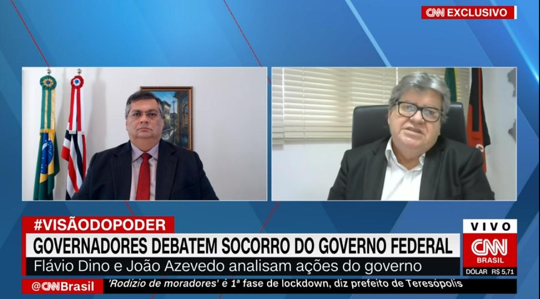 João Azevêdo CNN - Novo ministro da saúde deve encarar pandemia como 'questão sanitária, e não política', pede João Azevêdo