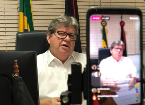 João Azevêdo - VEJA VÍDEO: João Azevêdo explica plano de retomada da economia na Paraíba