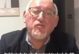 CONTRA A PRIVATIZAÇÃO: Marcos Henriques presta solidariedade a funcionários do Banco do Brasil – VEJA VÍDEO