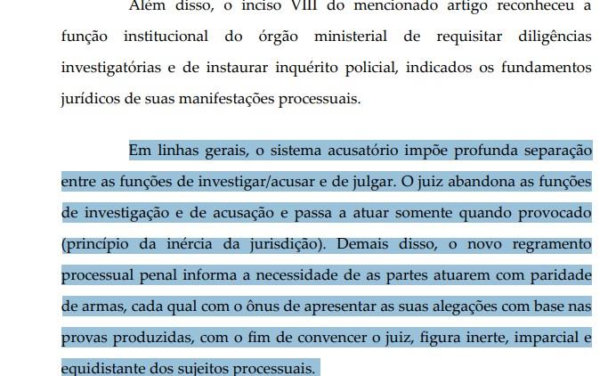aRAS 2 - Aras pede arquivamento de inquérito ao STF: 'Ficou para trás o sistema inquisitorial'; LEIA TRECHO