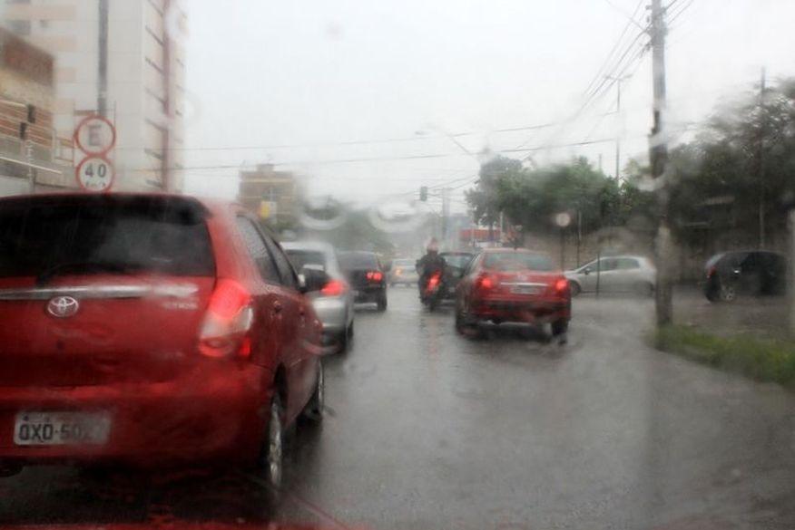 aesa preve chuvas isoladas no sertao paraibano nesta quarta feira 1 - ALERTA AMARELO:Inmet informa sobre perigo do potencial de acúmulo de chuvas em João Pessoa e mais 104 municípios paraibanos