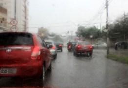 ALERTA AMARELO:Inmet informa sobre perigo do potencial de acúmulo de chuvas em João Pessoa e mais 104 municípios paraibanos