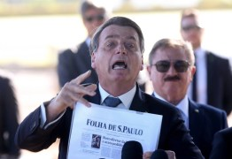 Bolsonaro manda repórteres calarem a boca, ataca Folha e nega interferência na Polícia Federal – VEJA VÍDEO