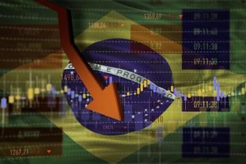corona - Mercado financeiro prevê queda de 5,89% na economia este ano