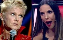 Xuxa cobra manifestação de Ivete Sangalo sobre Regina Duarte e é ignorada