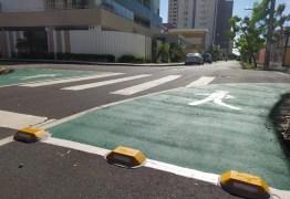 Semob-JP lança projeto com nova sinalização horizontal em cruzamentos para ampliar segurança dos pedestres