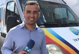 DE CASA NOVA: Repórter Flávio Fernandes troca TV Arapuan pela TV Tambaú