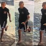 fuga assaltante - Assaltante dá soco em criança de 2 anos para roubar celular