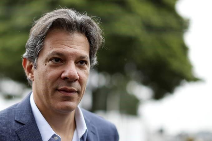 haddad  - Haddad afirma que parte dos brasileiros apoia o autoritarismo e que Bolsonaro cultiva ditadura - VEJA VÍDEO