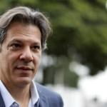 haddad  - Haddad: Não acredito no Jair 'paz e amor' depois que o Queiroz foi preso