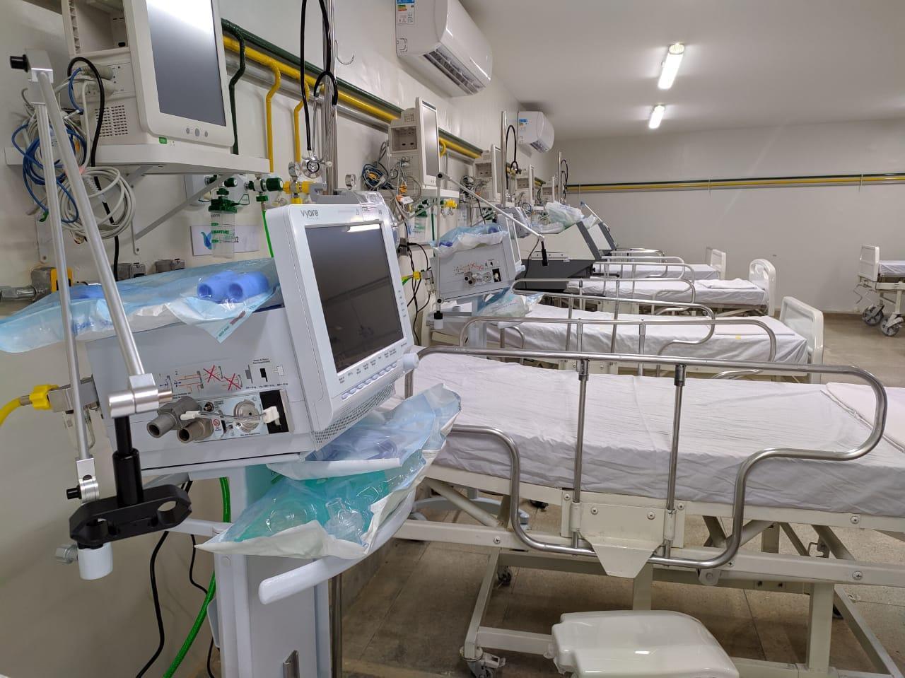 leitos no hospital prontovida joao pessoa pb covid coronavirus - Coronavírus: Senado aprova que hospital privado ceda leito desocupado ao SUS
