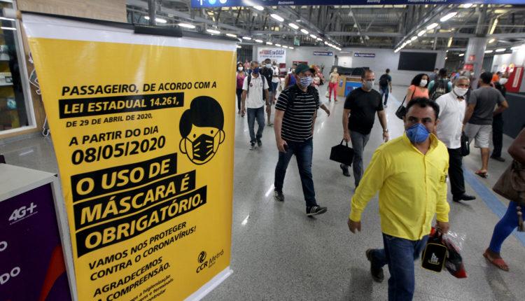 mascara fernando vivas ba 750x430 1 - DETENÇÃO E MULTA: Obrigatoriedade do uso de máscaras de proteção contra a Covid-19 em todo o país, deve ser votada hoje na Câmara