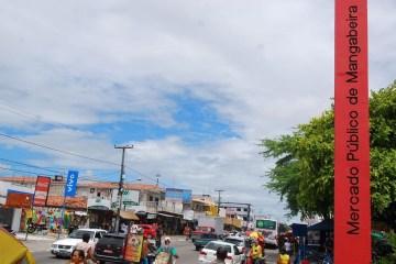 mercado mangabeira0904 - João Pessoa registra 44,5% por cento de isolamento nesta terça-feira (26) e Mangabeira é o bairro que tem pior índice
