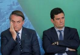 Bolsonaro chama Moro de covarde: 'Graças a Deus ficamos livres dele'