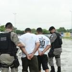 presos malhas da lei 1 - OPERAÇÃO MALHAS DA LEI: Polícia cumpre sete mandados de prisão em João Pessoa