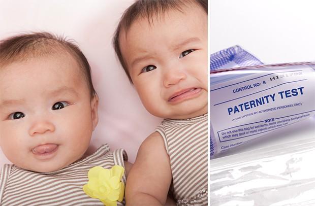 teste de paternidade - Após DNA, homem descobre que é pai biológico de apenas 1 dos bebês gêmeos que sua esposa deu à luz