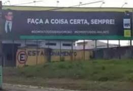 Esposa de Moro posta foto de outdoor do marido e provoca Bolsonaro: 'somos todos Lava Jato'