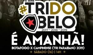 tri do belo 300x177 - TV Belo transmite decisão do Estadual de 2019 neste sábado (16)