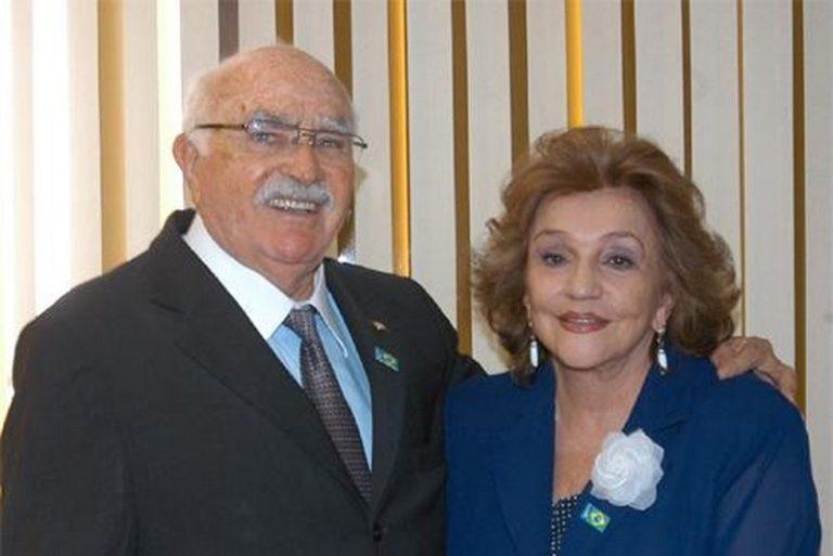 wilson e lucia braga anunciam apoio a candidatura de jose maranhao para o senado 768x513 2 - Morre ex-deputada federal Lúcia Braga, aos 85 anos
