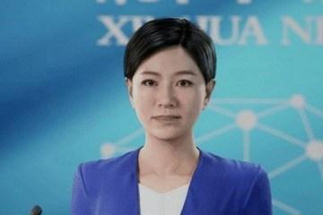 JORNALISTA HUMANA: China apresenta a primeira apresentadora com AI e tecnologia 3D no mundo