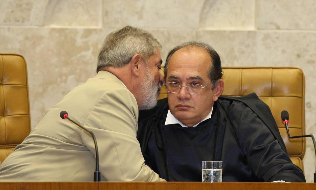 xgilmar mendes Lula.jpg.pagespeed.ic .scdwXJif4  - Gilmar Mendes acusa Moro de ter vazado delação de Palocci para beneficiar Bolsonaro