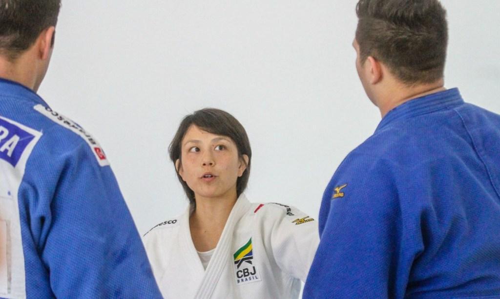 yuko fujii judo selecao 1024x613 - Força mental pode contar a favor do judô brasileiro na Olimpíada - VEJA VÍDEO