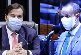 Maia dá invertida em deputado bolsonarista: 'E as faixas pedindo fechamento do congresso também terão punição na lei?' – VEJA VÍDEO
