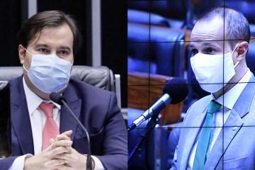 1450038 448844 - Maia dá invertida em deputado bolsonarista: 'E as faixas pedindo fechamento do congresso também terão punição na lei?' - VEJA VÍDEO