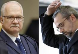 Fachin vota por manter Weintraub no inquérito das fake news