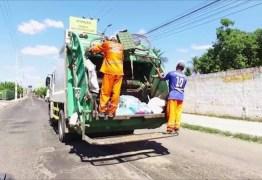 Carro colide com caminhão de lixo após invadir contramão, em Campina Grande