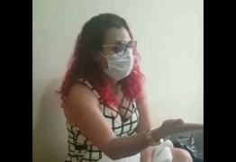 DENÚNCIA: Mulher relata descaso da Prefeitura de Campina Grande no tratamento de doentes em hospital de campanha – VEJA VÍDEO