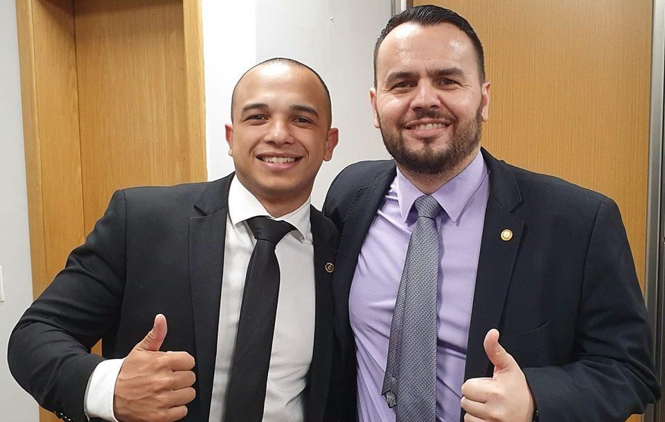 DOUGLAS GARCIA GIL DINIZ e1593522524172 - Deputados bolsonaristas Douglas Garcia e Gil Diniz são afastados de atividades na Alesp