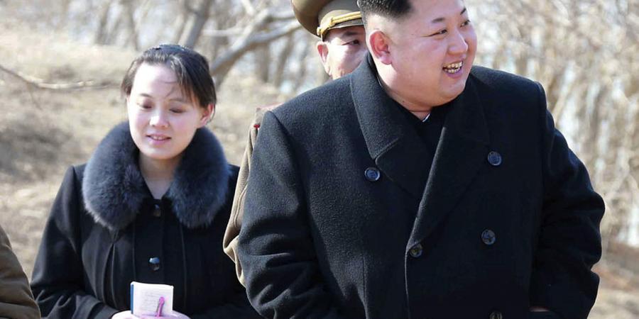 Koreas Olympics Abra - Governo Sul-Coreano critica ameaças feitas por irmã de Kim Jong-un
