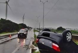 PRF na Paraíba alerta sobre o perigo de dirigir em dias chuvosos e os riscos de acidentes causados por aquaplanagem