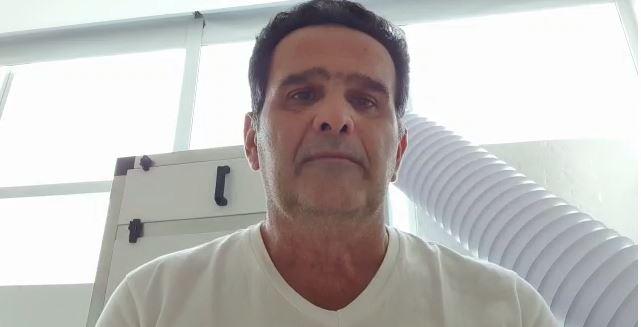 alexandre cunha - 'Foi um milagre', afirma Alexandre Cunha após vencer a covid-19 - VEJA VÍDEO