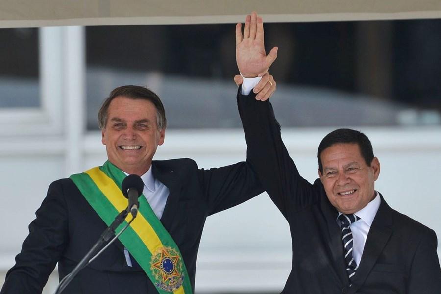 bolsonaro e hamilton mourao - TSE julga nesta semana cassação da chapa presidencial por abuso de poder