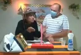 """Antônio Gobira e Marquinhos Campos """"quebram pau"""", ao defender grupos políticos durante programa – VEJA VÍDEO"""